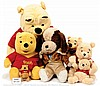 QTY inc Collection of Winnie the Pooh plush
