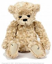 Charlie Bears Melody, beige plush bear, QVC