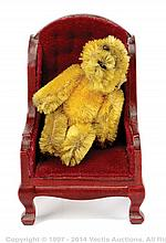 Schuco Miniature golden mohair Teddy Bear