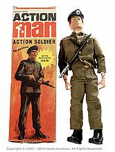Palitoy vintage Action Man boxed Action Soldier