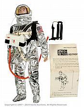 Palitoy vintage Action Man Astronaut. Brown