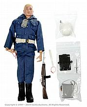 Palitoy vintage Action Man Air Police. Blonde