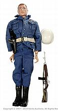 Palitoy vintage Action Man Air Police. Red