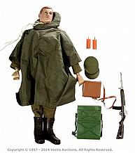 Palitoy vintage Action Man Command Post Soldier