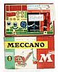 Meccano Outfit No.8 circa 1960s with red/green