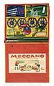 Meccano rare Export Set Ga blue/yellow hatched