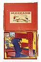 Meccano rare Export Set Fa blue/gold hatched