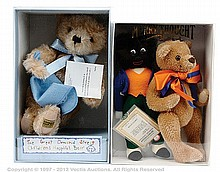 PAIR inc Merrythought Bears and Gollys The Great