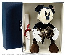 Steiff Mickey Mouse specially made for La Maison