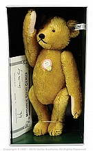 Steiff Petsy Brass 1927 replica Teddy Bear
