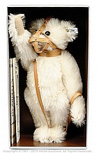 Steiff white muzzle Bear replica 1908, 1990