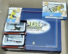 GRP inc Corgi, Lledo boxed Aircraft