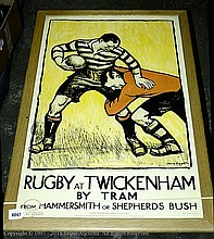 Reproduction mounted Poster