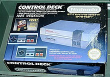 Nintendo boxed Entertainment System Control