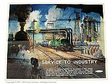 Cuneo Railway Poster published by British