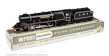 Wrenn W2241 AM2 4-6-2 Loco and Tender LMS black