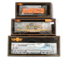 GRP inc MTH HO Gauge locos and Freight cars