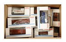 GRP inc Marklin HO Gauge 18 x assorted Wagons