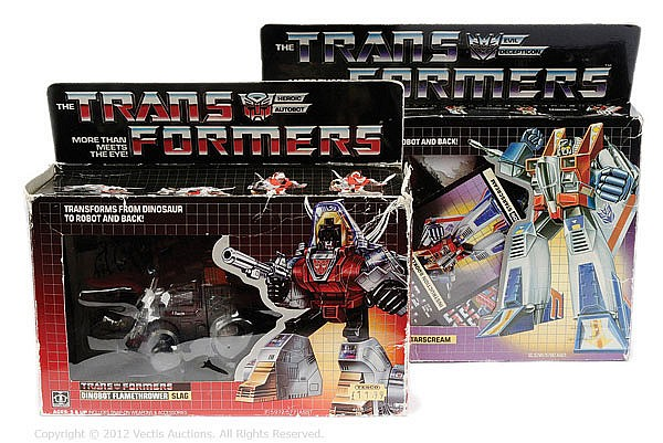 PAIR Hasbro Transformers Generation 1