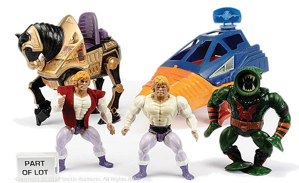 QTY Mattel Masters of the Universe He-Man