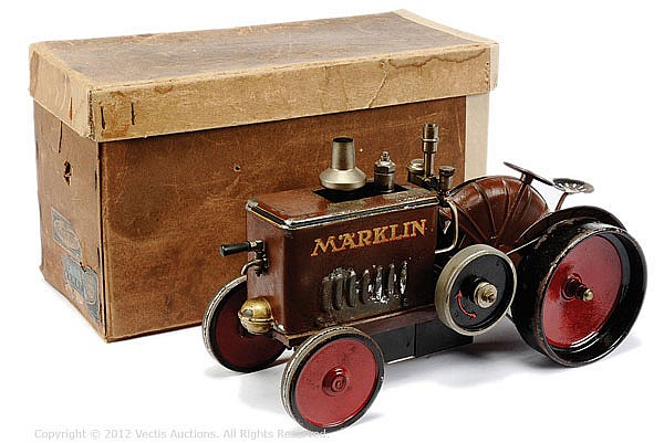 Marklin (Germany) Live Steam Field Tractor