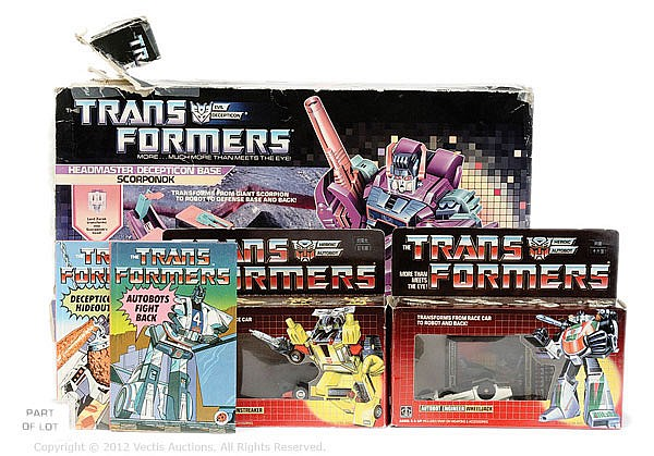 QTY Hasbro Transformers Generation 1 toys