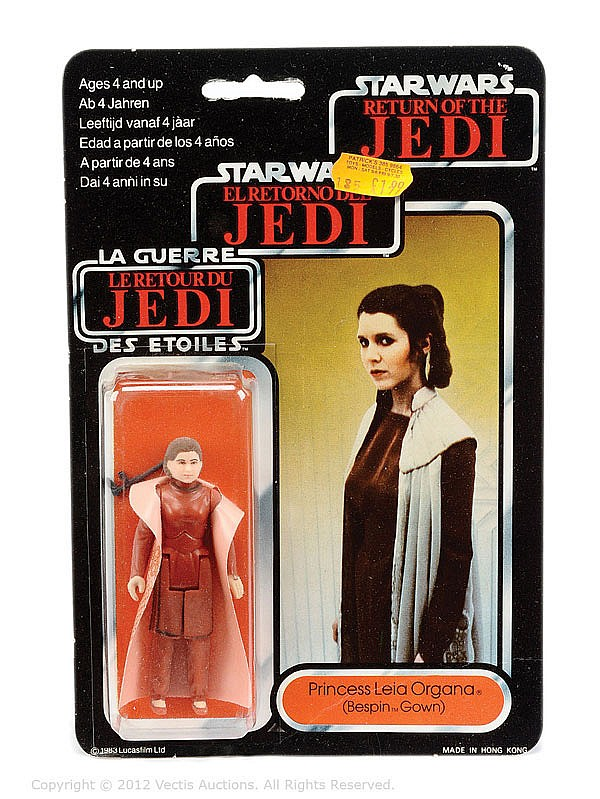 Palitoy/General Mills Star Wars Return Jedi Leia