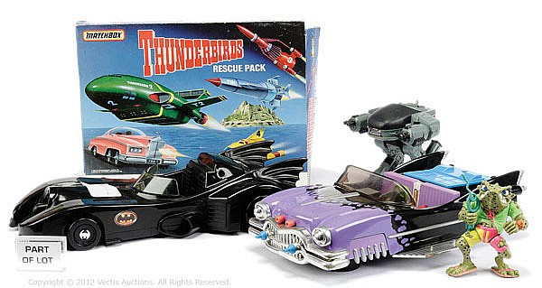QTY toys inc Matchbox Thunderbirds Rescue Pack