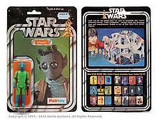 Palitoy Star Wars Greedo 3 3/4