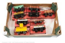GRP inc Hornby O Gauge post-war Goods Wagons LMS