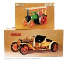 PAIR inc Mamod Steam vehicles TE1a Steam Tractor