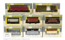 GRP inc Wrenn Goods Wagons W4640 Goods Wagon