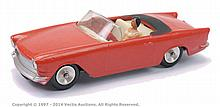 Solido Simca Oceane Cabriolet - dull red, cream