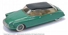 Solido Citroen Construction Car - green, cream