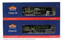 PAIR inc Bachmann OO Gauge 2 x Steam locos 31715