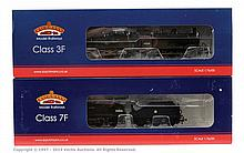 Bachmann OO Gauge 2 x Steam Outline locos