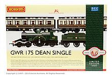 Hornby (China) OO Gauge GWR Dean Single LE set