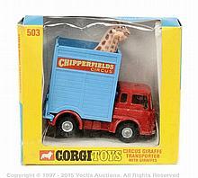 "Corgi No.503 ""Chipperfields Circus"" Bedford TK"