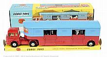 "Corgi No.1130 ""Chipperfields Circus"" Bedford TK"