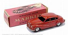 Marklin No.8016 BMW 501 - brick red body, cast