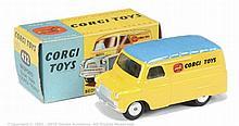 "Corgi No.422 Bedford ""Corgi Toys"" Van yellow"