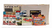 GRP inc Dinky Toys Colour 1970's Catalogues