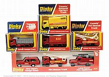 "GRP inc Dinky No.304 ""Fire Rescue"" Gift Set"