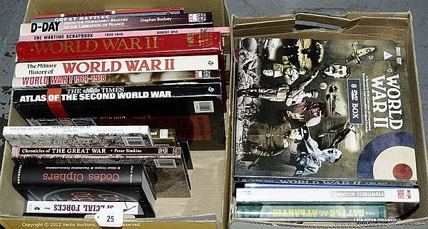 GRP inc Military Books/DVD's , World War II