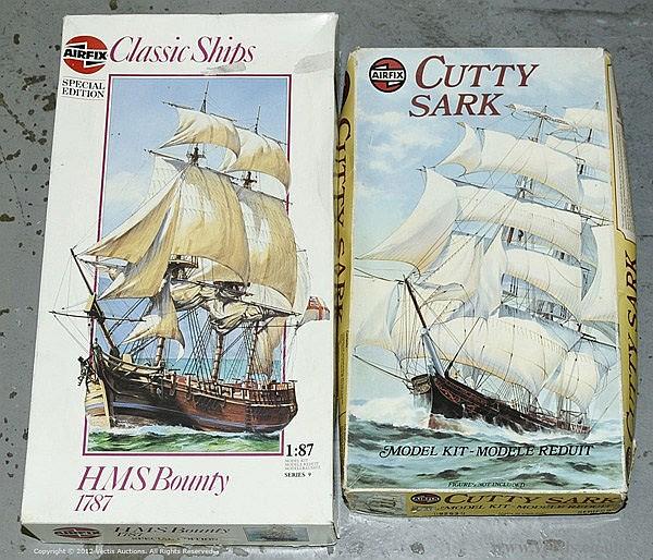 PAIR inc Airfix - Classic Ships Series, HMS