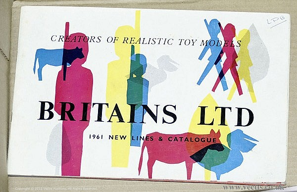 Britains - 116th Edition Catalogue for January