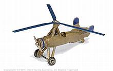 Dinky No.60f Pre-War Cierva Autogiro - gold