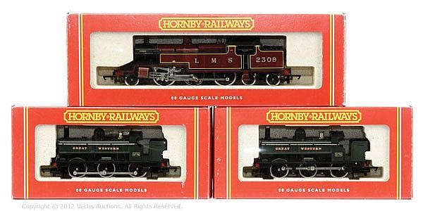 GRP inc Hornby Railways OO Gauge 3 x Tank locos