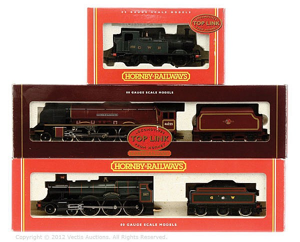GRP inc Hornby Railways OO Gauge 2 x Steam