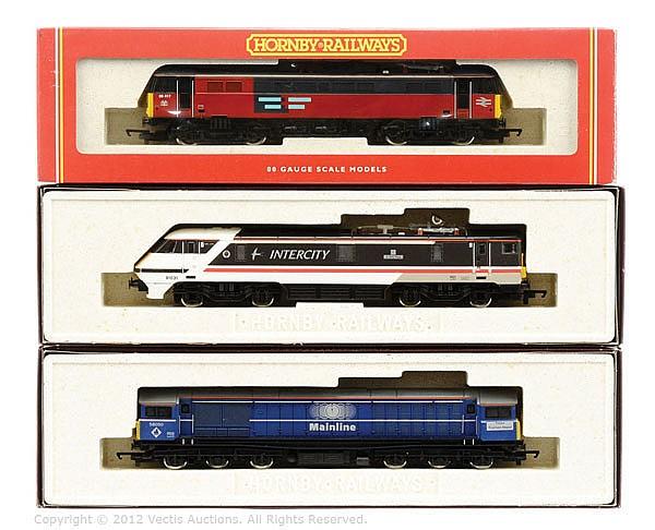 GRP inc Hornby Railways OO Gauge 2 x Electric
